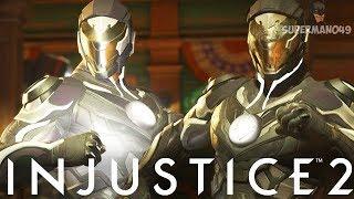 "Legendary Power Of The Black Lantern! - Injustice 2 ""Green Lantern"" Legendary Gear Gameplay"