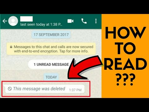 How to read deleted messages of whatsapp with Notisave app!!