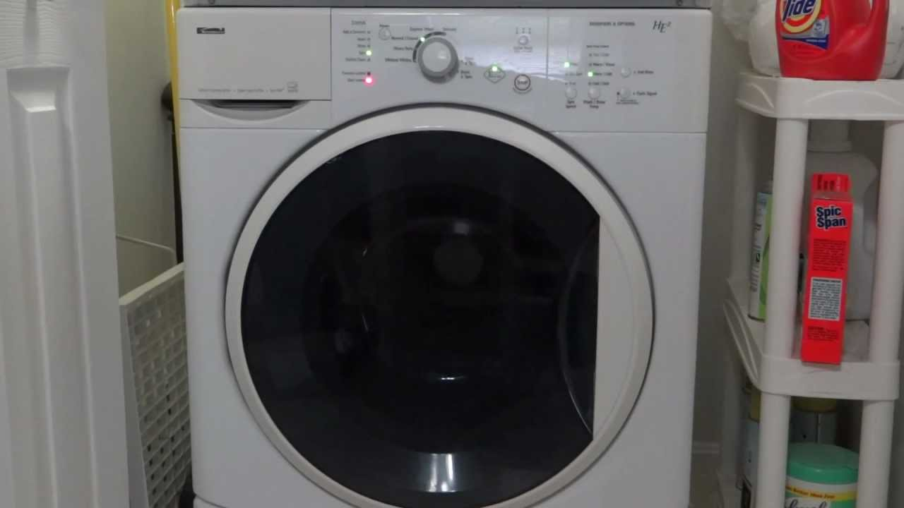 Kenmore He2 Front Loader Washer Complete Cycles Amp Dryer