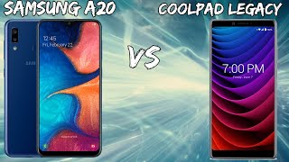 Samsung Galaxy A20 Vs CoolPad Legacy Speed Test