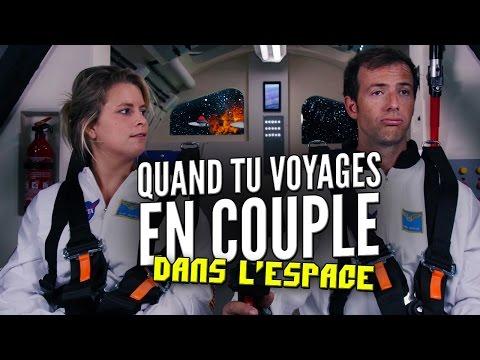 Quand tu voyages en couple dans l'espace