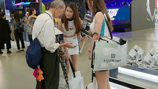 (Live) COMPUTEX TAIPEI 2019 國電展 一次看完所有美腿