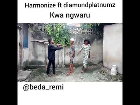 Harmonize ft Diamond Platnumz- Kwa Ngwaru (Official Video)