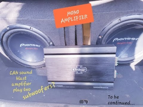 How To Install Mono Amplifier