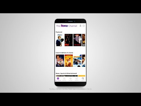 Stream Free TV On The Go With The Free Roku Mobile App