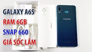 Samsung Galaxy A6s RAM 6GB, Snap 660 giá rẻ hơn Xiaomi