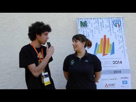 Intervista a Susanna Ricci del CUS Torino - Record italiano universitario pistola 10 m