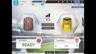 EA Sports FIFA World Gameplay with a controller