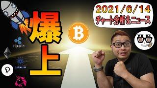 【仮想通貨ビットコイン&アルトコイン分析】4万ドルの攻防戦再び!!ぶち抜けば「爆上げ」!?