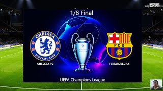 Pes 2020 | chelsea fc vs barcelona messi free kick goal uefa champions league 1/8 final gameplay pc subscribe please)) http://www./c/foot...