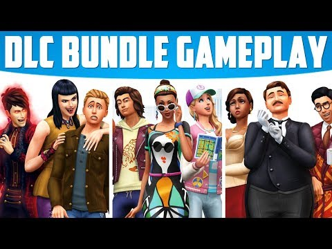The Sims 4 [PS4] DLC Bundle! (City Living, Vampires & Vintage Glamour)
