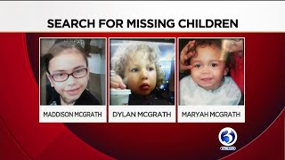 VIDEO: Texas Police issue Amber Alert for missing Waterbury children