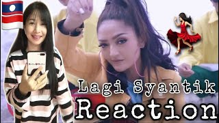 Reaction-Siti Badriah-Lagi Syantik 🇮🇩(Official Music Video NAGASWARA). 💃🏻💃🏻