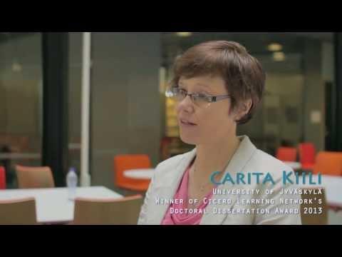 CICERO Learning Researcher Interviews - Carita Kiili, PhD