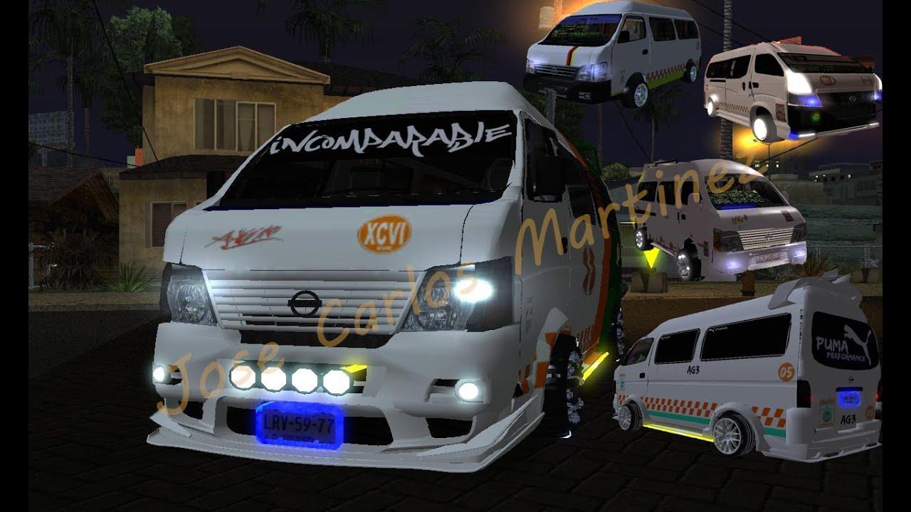 Nissan Urvan Incomparable Avm 50 Aniversario Y Mas Gta