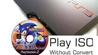 How To Play PS2 Disc ISO On PS3 Fat / Slim