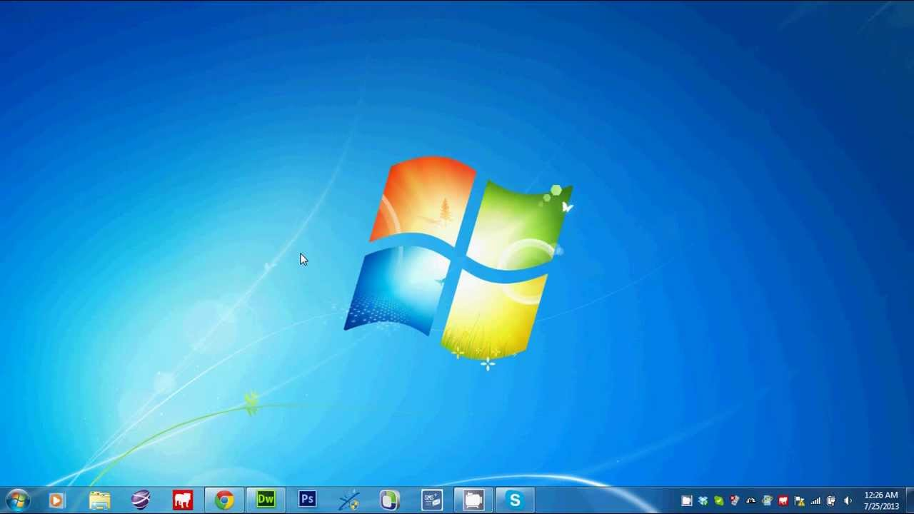 How To Show Desktop Icons In Windows  Home Basic