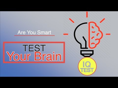 Intelligence Test 2019 - RA Media Real online IQ Test - Part -1