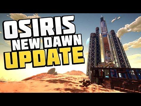 Osiris New Dawn - MASSIVE UPDATES! New Planet, New Aliens, New Items! - Osiris New Dawn Gameplay