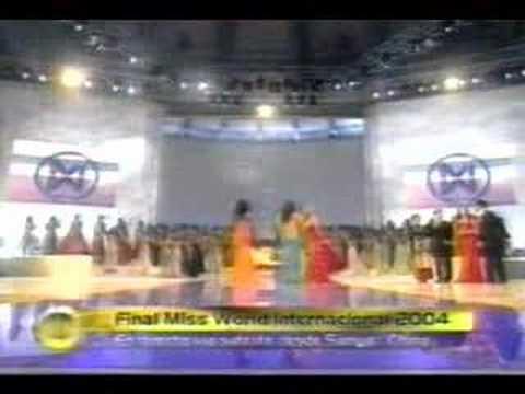 MISS WORLD 2004 - MISS PERU MARIA JULIA MANTILLA