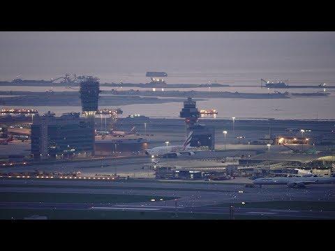 🔴 Hong Kong Airport Aircraft Movements with ATC