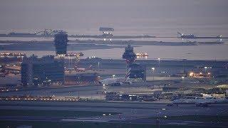 🔴 Hong Kong Airport Aircraft Movements with ATC thumbnail