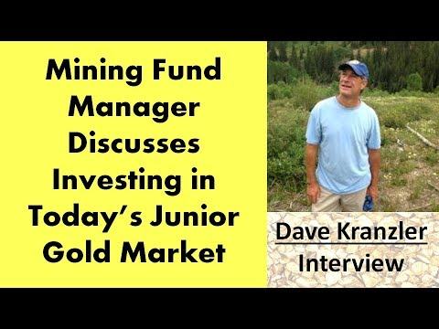 Dave Kranzler   Mining Fund Manager Discusses Investing In Today's Junior Gold Market
