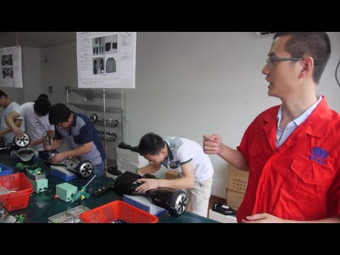 $180 Balance Scooter Factory Tour at Shenzhen Realtime
