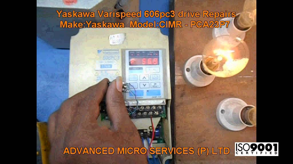 yaskawa varispeed 606pc3 drive repairs advanced micro services yaskawa varispeed 606pc3 drive repairs advanced micro services pvt bangalore