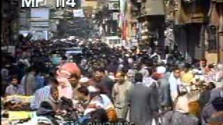 Cairo Streets People 1 - People Walking In Cairo, Egypt - Best Shot Footage - Stock Footage