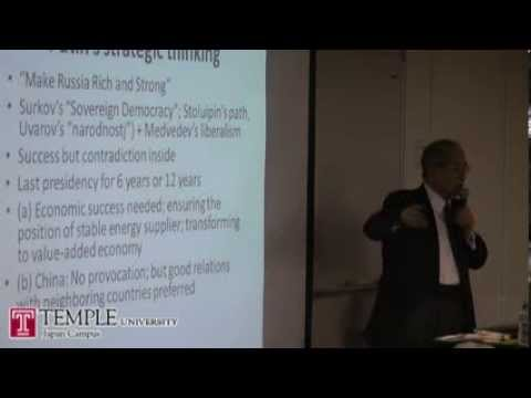 Public Lecture Video (12.3.2013) Kazuhiko Togo: Towards a Japan-Russia deal on......