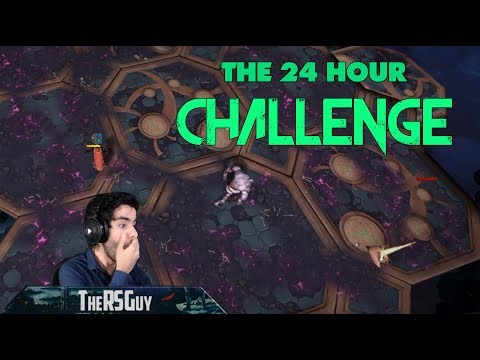 The 24 Hour Challenge! | 24 Hours of RS starting from nothing | Runescape 3 2018