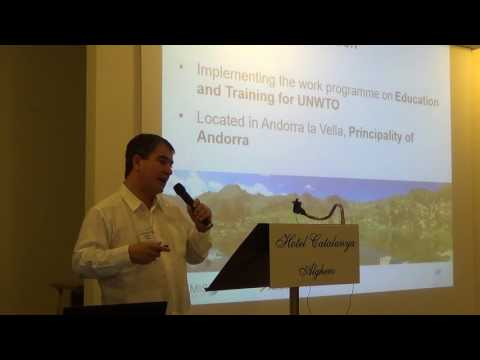 Omar Valdez, Executive Director, Themis Foundation, UNWTO: Tourism Naturally Conference Plenary