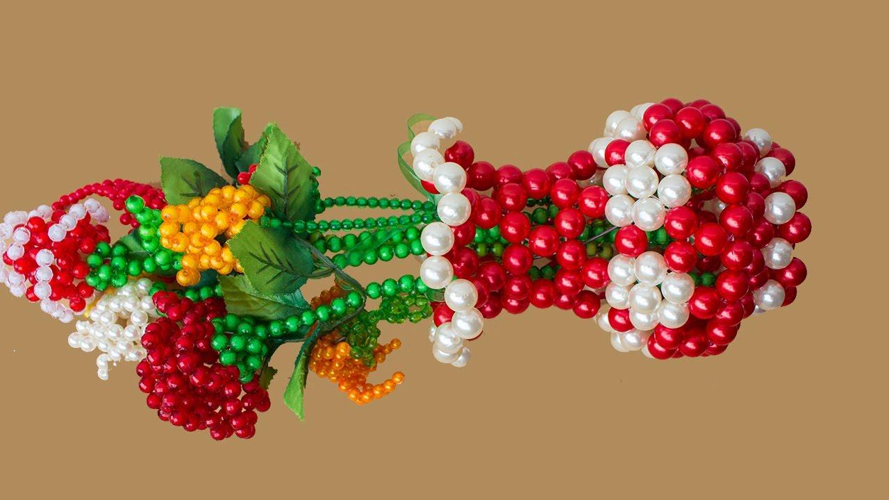 Download পুতির ফুলদানি - How To Make Beaded Flower Vase / Flower Pot / Flower Stand  / Putir Fuldani