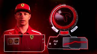 Kimi Raikkonen explains the F1 circuit of Spa 2018