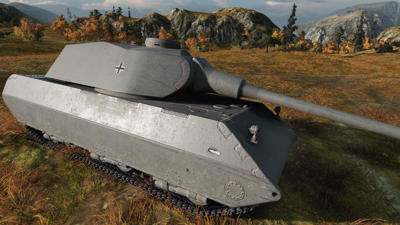 World of Tanks VK 100 01 P   6.437 DMG   1.957 EXP - Tundra - YouTube