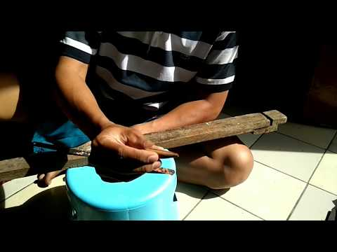 cara membuat lure handmade tipe sinking ultralight