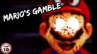 Top 10 Mario Creepypastas You Never Heard - Part 2