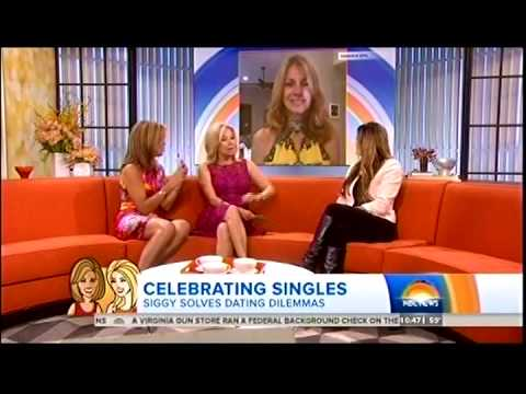 """""""Siggy Flicker - Relationship Expert - with Hoda & Kathie Lee on TODAY SHOW!!!"""""""
