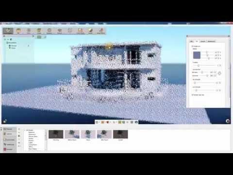 SimLab Composer Architectural series (exterior rendering tutorial)