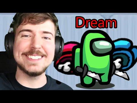 Among Us But Dream Goes 900 IQ! - Видео онлайн