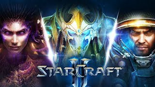StarCraft 2 The Trilogy - 4K Movie - inc Wings of Liberty, Heart of the Swarm & Legacy of the Void