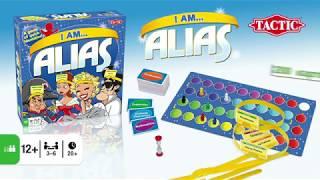 Настольная игра ALIAS КТО Я ?