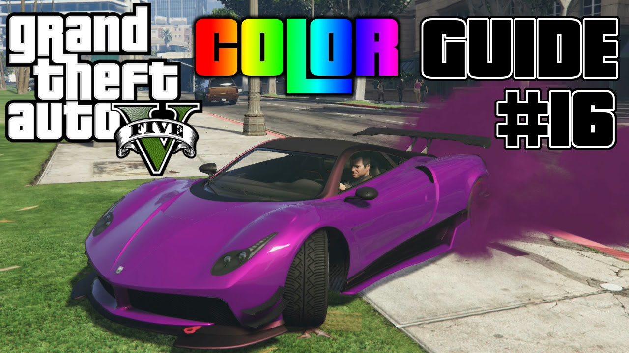 gta v ultimate color guide 16 best colors combos for pegassi