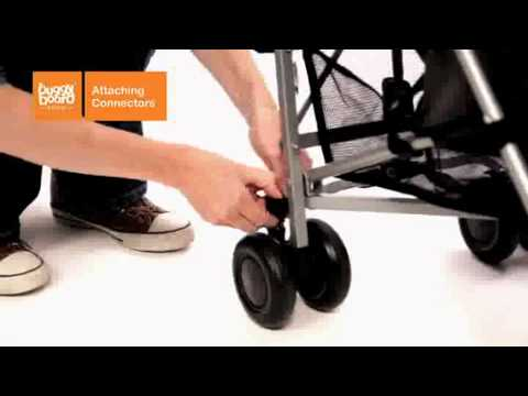 How To Fit The Lascal BuggyBoard Mini To Your Pushchair