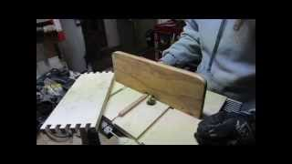Making A Box Joint Jig For The Router Table.