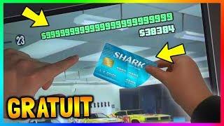 AVOIR DES SHARK CARDS GRATUITEMENT SUR PS4/ONE/PC ! (ASTUCE)