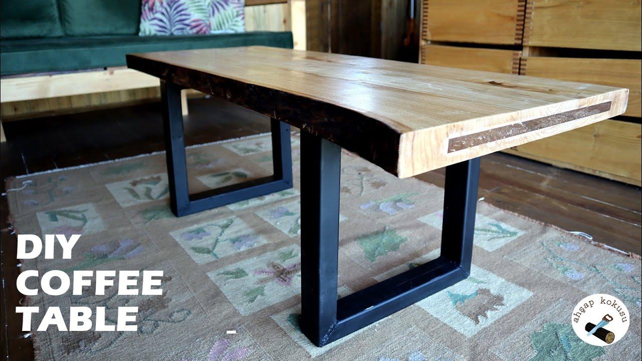 Making a Modern Coffee Table / Orta Sehpa Yapımı