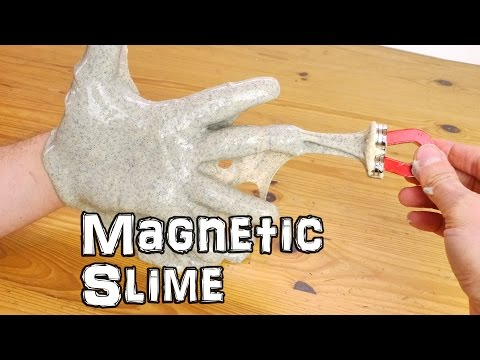 How to Make Magnetic Slime - Science Experiment