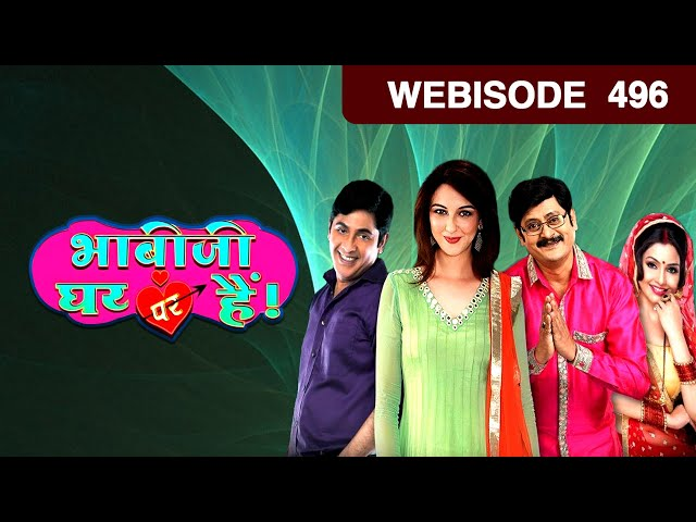 Bhabi Ji Ghar Par Hain - भाबीजी घर पर हैं - Episode 496  - January 20, 2017 - Webisode